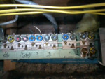 Old fuse panel