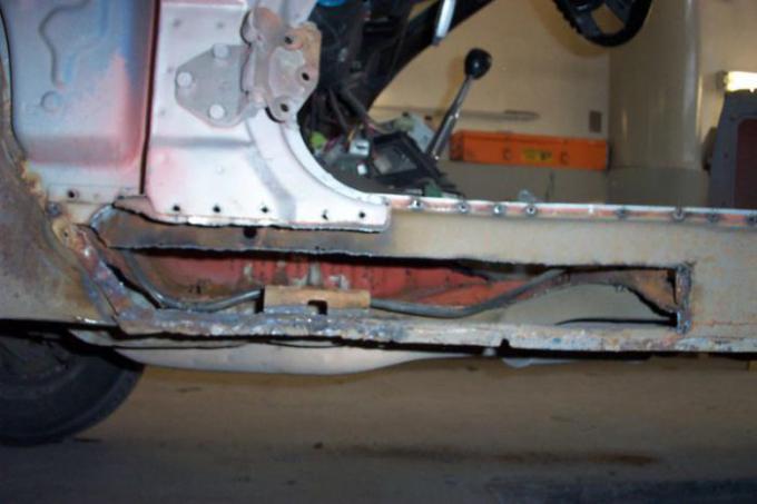Getting Ready to Repair - 2004 Restoration
